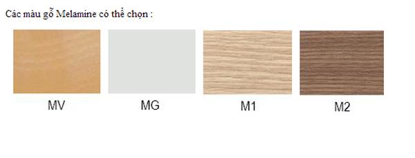 Mẫu màu gỗ melamine
