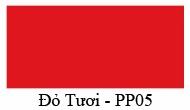 Mầu màu Đỏ tưoi PP05 Nội thất 190