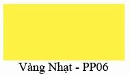 Mầu màu Vàng Nhạt PP06 Nội thất 190