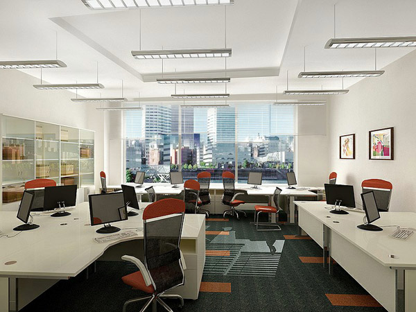 Văn phòng cực chất với nội thất Hòa Phát