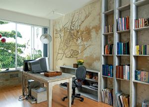 thiết kế văn phòng tại nhà