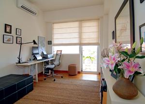 Văn phòng tại nhà có đầy đủ phương tiện